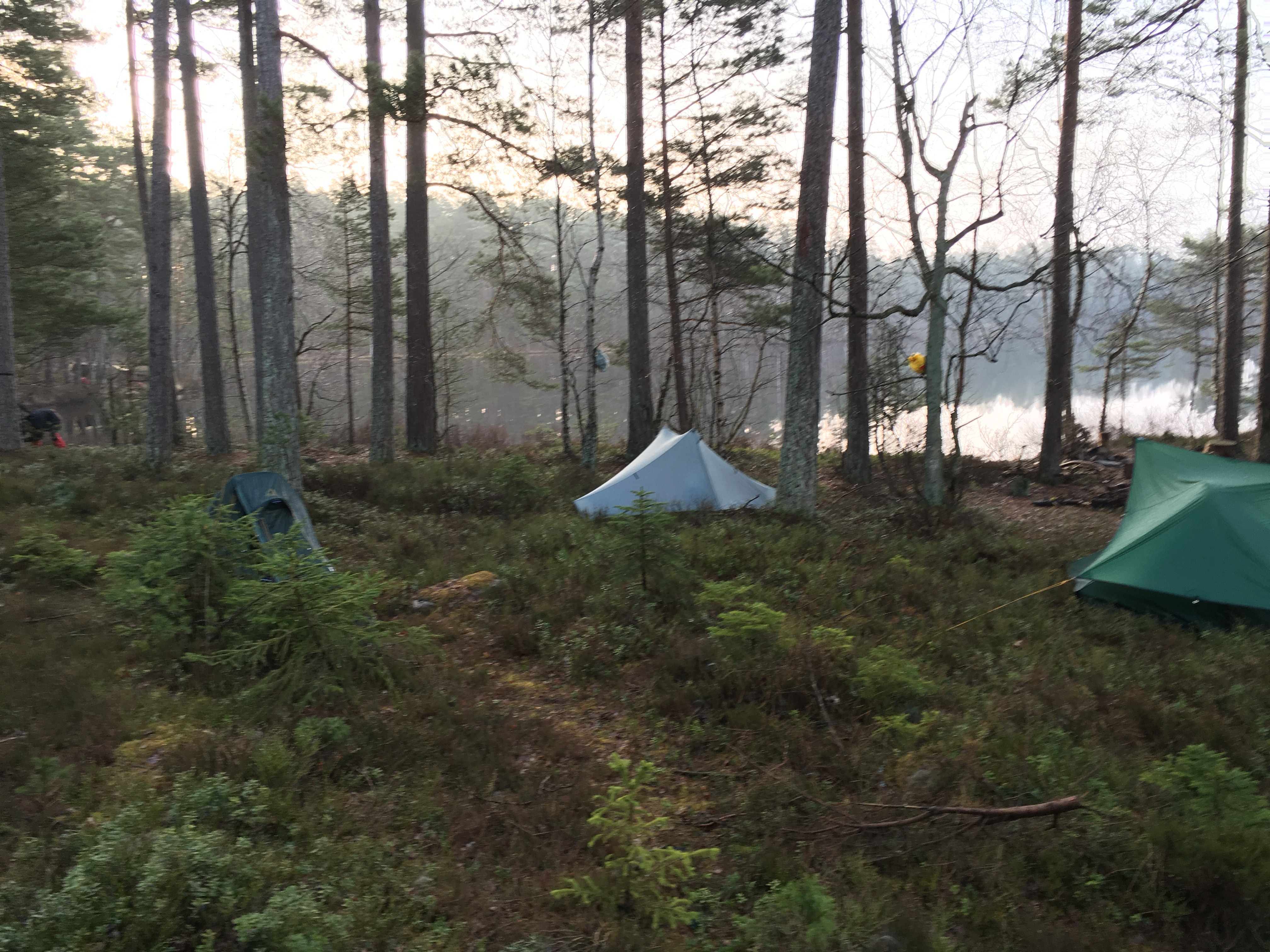 Wilderness trip in the South of Sweden