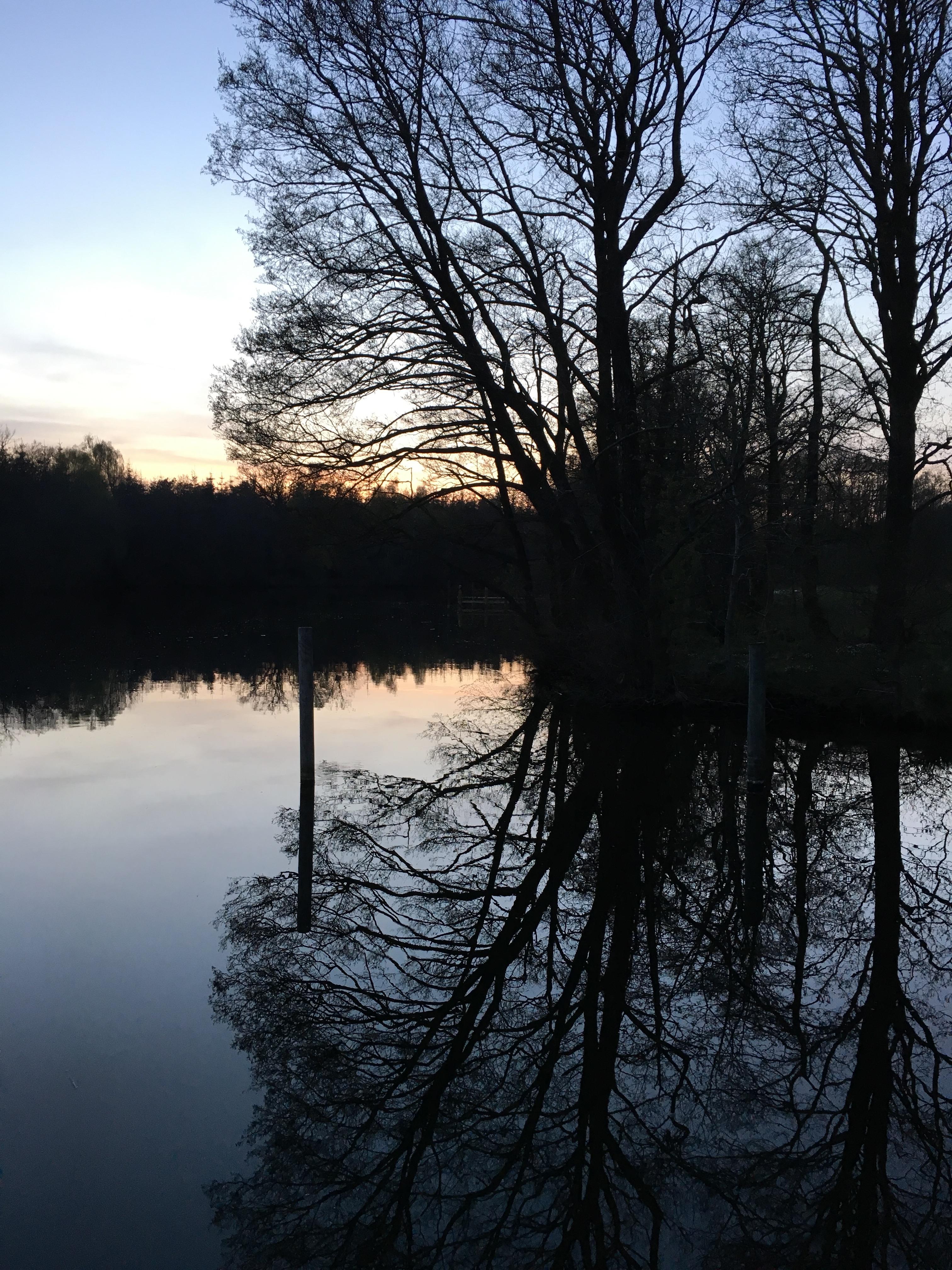 Hiking around the Silkeborg Lakes