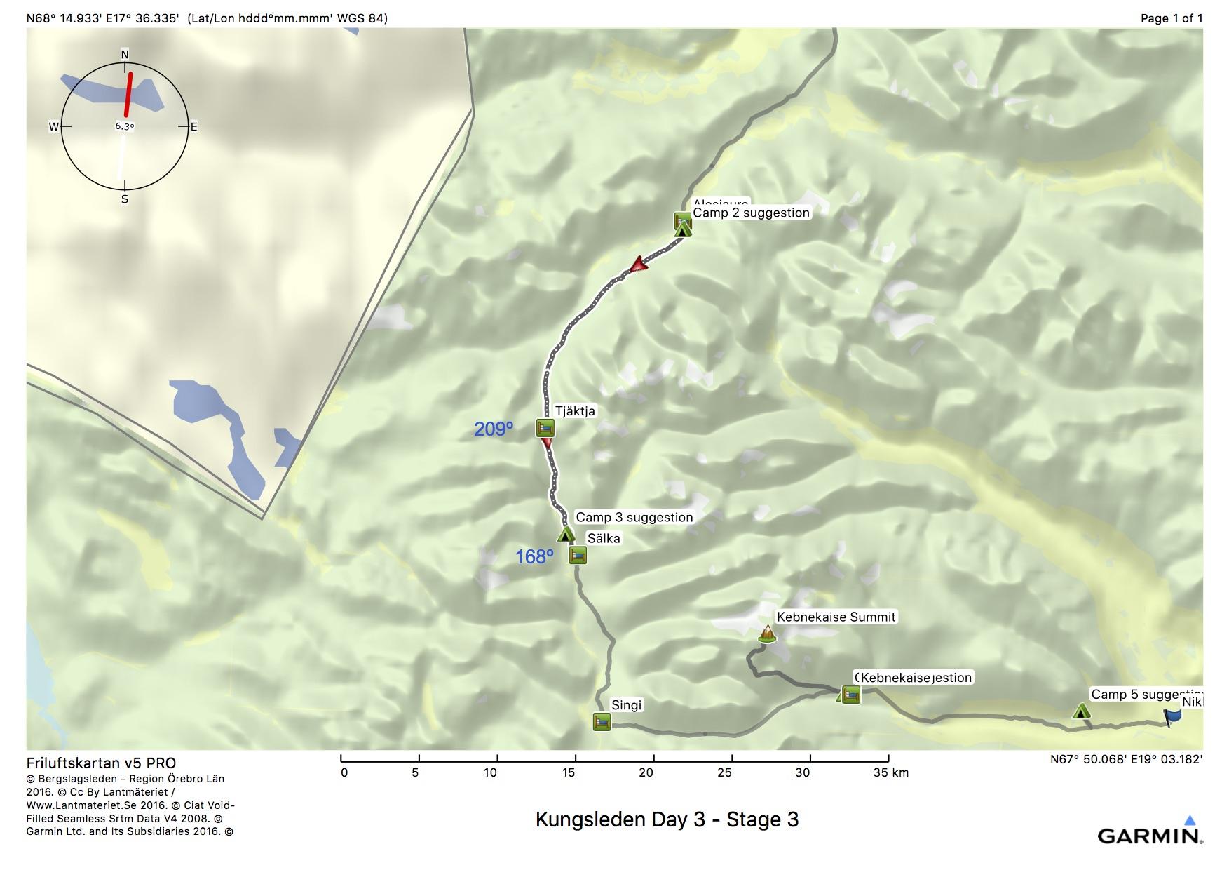 Kungsleden Day 3 - Stage 3