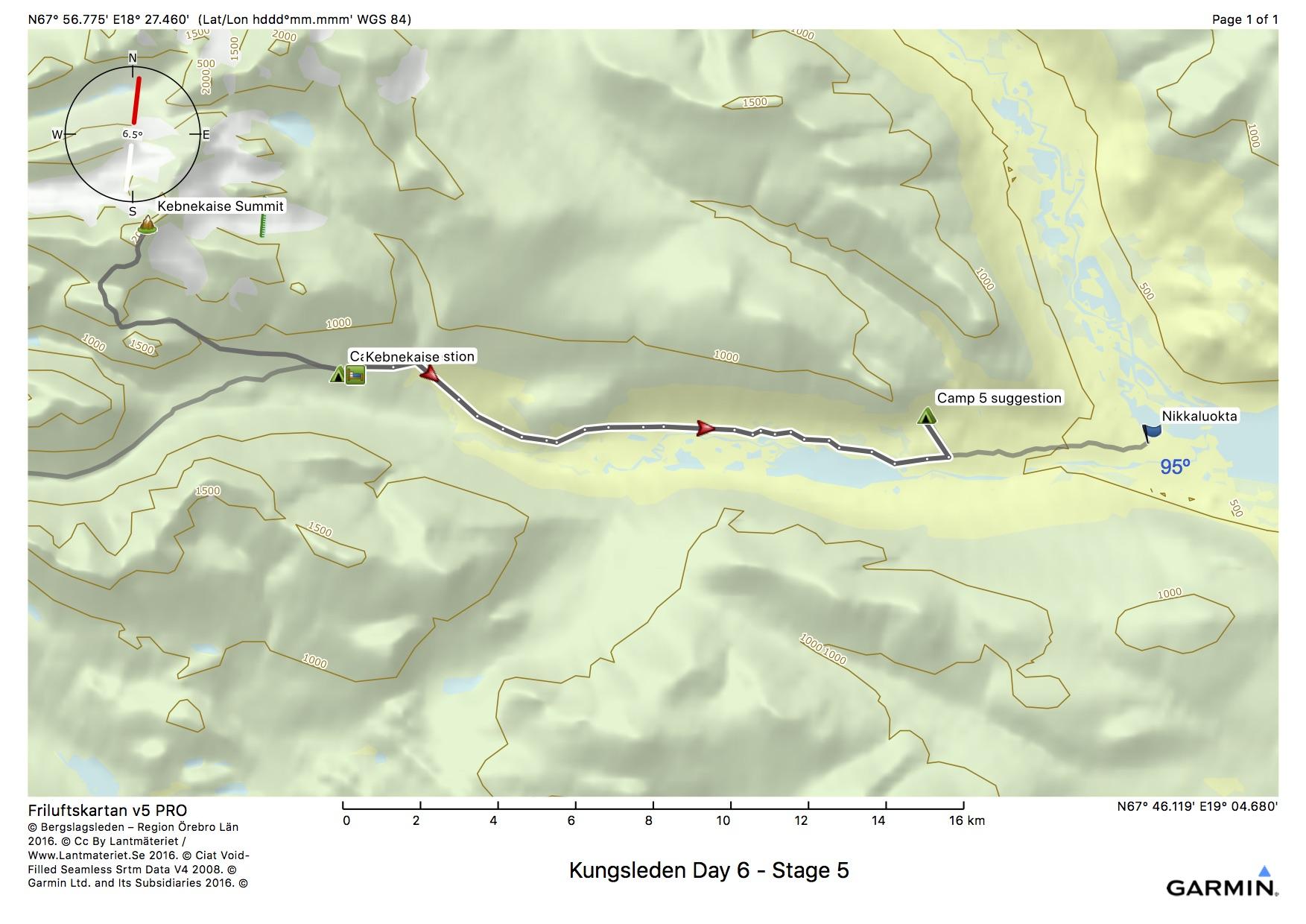 Kungsleden Day 6 - Stage 5