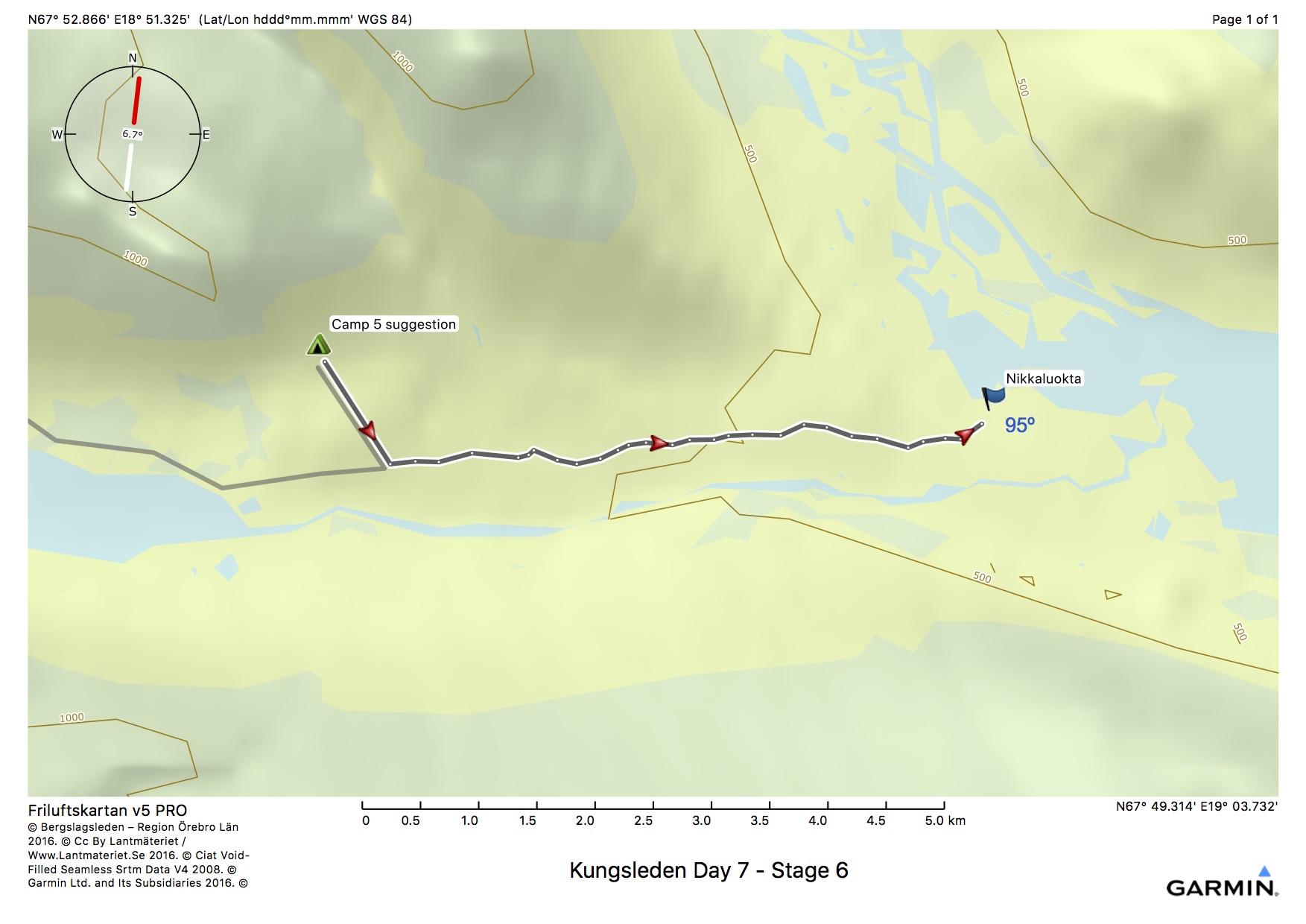 Kungsleden Day 7 - Stage 6
